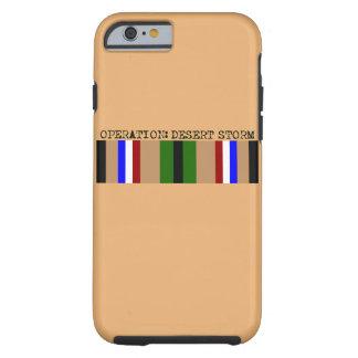 Operación: Caja del teléfono de la tormenta de Funda Resistente iPhone 6