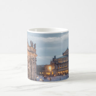 Operación de Dresden Semper Taza De Café
