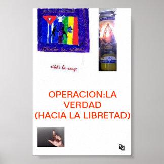 OPERACION: POSTER DEL LA VERDAD