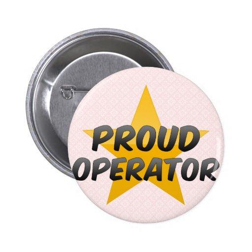 Operador orgulloso pins