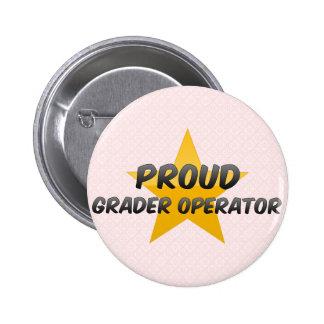 Operador orgulloso del graduador pins