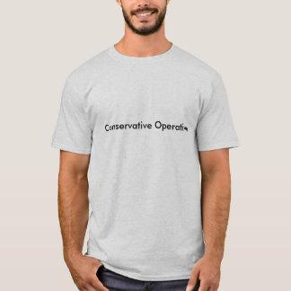 Operario conservador camiseta