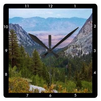 Reloj Cuadrado Opinión #2 del rastro del Monte Whitney: Reloj