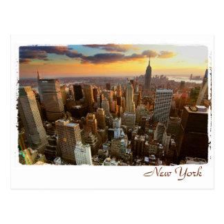 Opinión aérea de Nueva York Postal