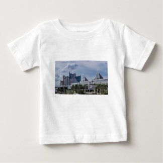Opinión aérea de Orlando Camiseta De Bebé