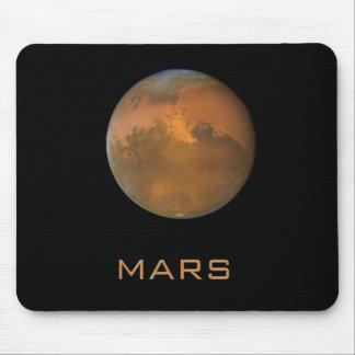 Opinión anaranjada completa Mousepad de Marte del  Tapetes De Raton