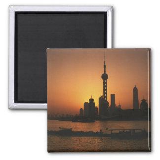 Opinión de ASIA, China, Shangai de la perla orient Imán