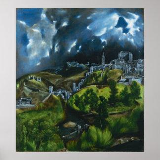 Opinión de El Greco del poster de Toledo