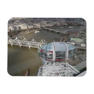 """Opinión de la ciudad del ojo 3"""" de Londres"""" imán"""
