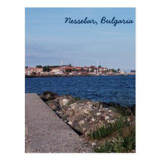 Opinión de la postal de Nessebar, Bulgaria