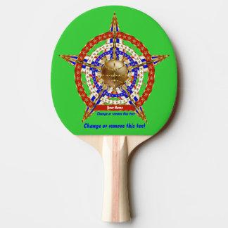 Opinión de la tabla de la puerta posterior de los pala de ping pong