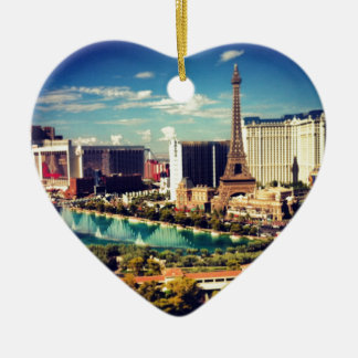Opinión de la tira de Las Vegas Adorno De Cerámica En Forma De Corazón