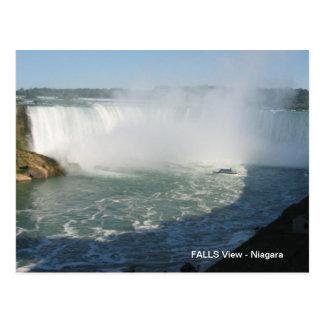 Opinión de las caídas: Niágara los E.E.U.U. Canadá Postal