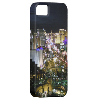 Opinión de Las Vegas Boulevard en la noche iPhone 5 Fundas