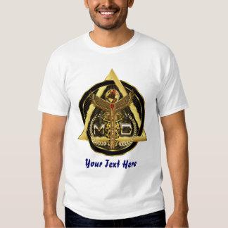 OPINIÓN de los hombres del médico logotipo SOBRE Camisetas