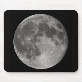 Opinión de Luna Llena de la tierra Tapetes De Ratones