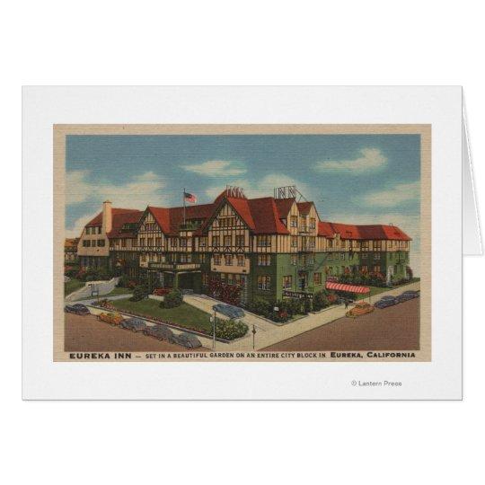 Opinión del hotel del mesón de Eureka en Eureka, Tarjeta De Felicitación