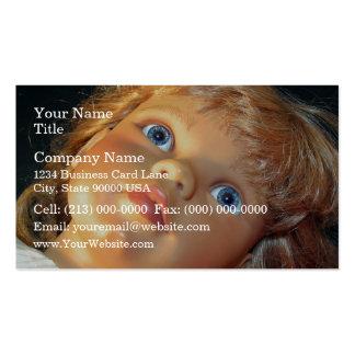 Opinión del primer de la muñeca plantillas de tarjetas de visita