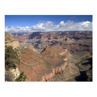 Opinión del sur del Gran Cañón, Arizona del borde, Postal