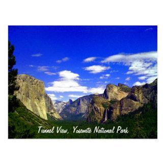 Opinión del túnel, postal del parque nacional de