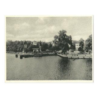 Opinión del vintage de Bremen/de la postal de
