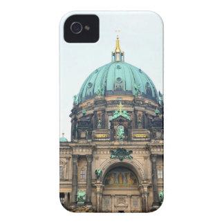 Opinión del vintage de la catedral de Berlín (Dom Carcasa Para iPhone 4 De Case-Mate