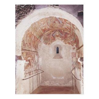 Opinión el coro con los frescos postal