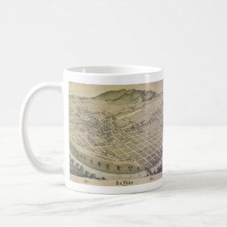 Opinión El Paso el condado de El Paso Tejas 1886 d Tazas De Café