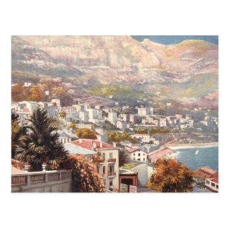 Opinión hermosa de Monte Carlo Postal