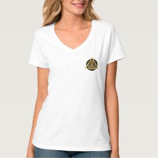 OPINIÓN médica de las mujeres del logotipo de la Camisas