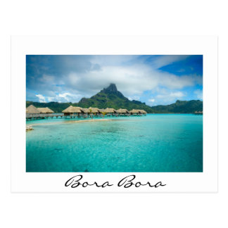 Opinión sobre la isla de Bora Bora Postal