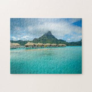 Opinión sobre rompecabezas de la isla de Bora Bora