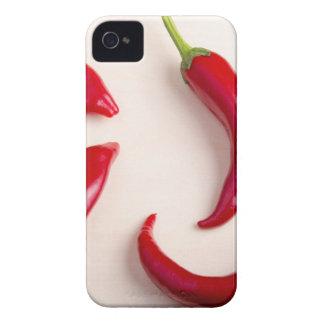Opinión superior sobre las pimientas de un chile funda para iPhone 4 de Case-Mate