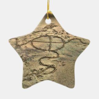 Opiniones de la playa de Lowcountry Edisto del Adorno De Cerámica En Forma De Estrella
