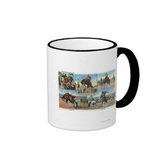 Opiniones de OregonScenic de los tipos de caballo Taza De Café