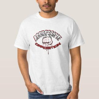 Oposición agresiva 1 camisetas