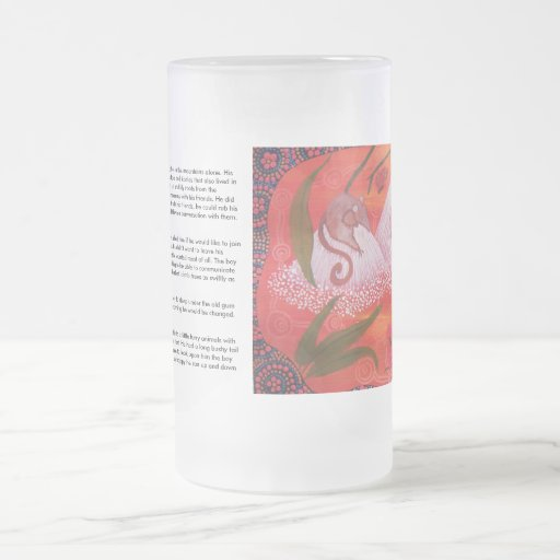Oposum de la miel que soña el vidrio esmerilado taza