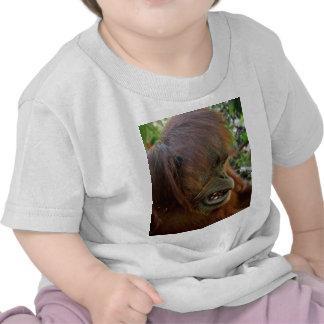 """Orangután """"mún día del pelo """" camiseta"""