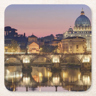 Orarium Vaticanum Posavasos De Papel Cuadrado