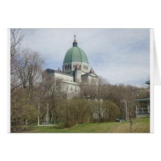Oratorio de San José, Montreal Tarjeta De Felicitación