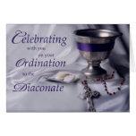 Ordenación católica al rosario de la cáliz del dia felicitacion