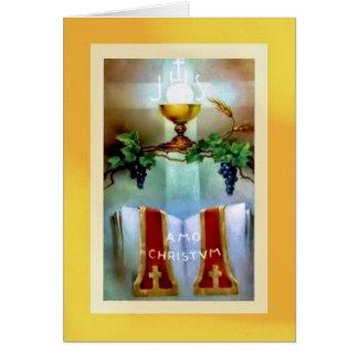 Ordenación tradicional del aniversario para la tarjeta de felicitación
