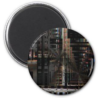 Ordenador electrónico de la placa de circuito de imán