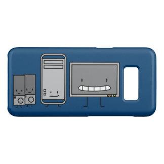 Ordenador feliz ÉL familia Funda De Case-Mate Para Samsung Galaxy S8