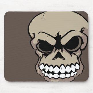Ordenador Mousepad del cráneo del vector del moren Alfombrilla De Ratones