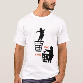 ordnung camiseta
