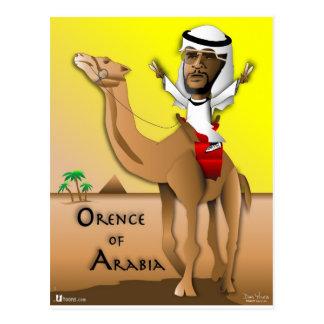 Orence de Arabia Postal