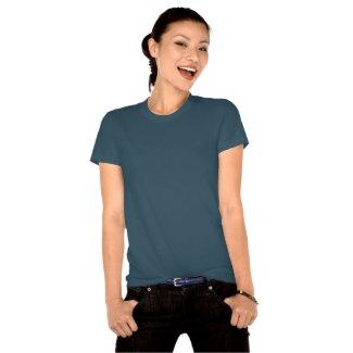 Camiseta poker azul organica
