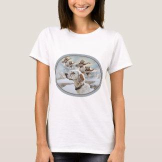 Organismo inglés con el camisetas de los faisanes