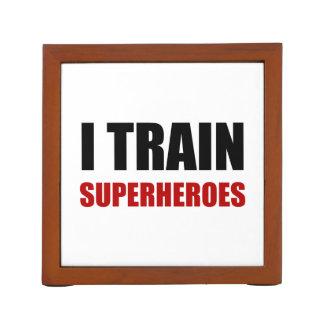 Organizador De Escritorio Entreno a super héroes
